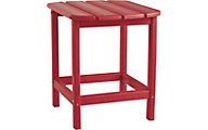 Ashley Sundown Treasure Red End Table