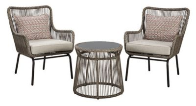 Ashley Cotton Road 2 Chairs And End Table