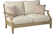 Ashley Clare View Loveseat W 2 Pillow