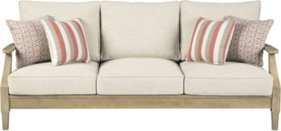Ashley Clare View Sofa W/4 Pillows