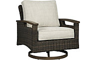Ashley Paradise Trail Swivel Lounger