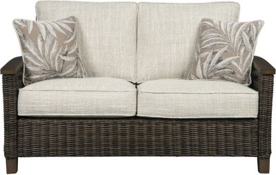 Ashley Paradise Trail Loveseat with Pillows