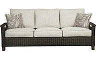 Ashley Paradise Trail Sofa with Pillows