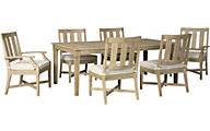 Ashley Clare View 7-Piece Dining Set