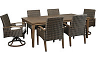 Ashley Paradise 7-Piece Outdoor Dining Set