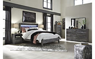 Ashley Baystorm 4-Piece Queen Panel Bedroom Set