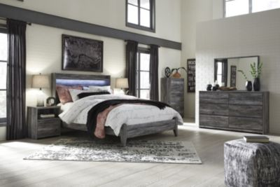Ashley Baystorm 4-Piece King Panel Bedroom Set