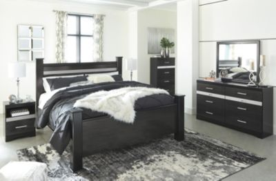 Ashley Starberry 4-Piece Queen Bedroom Set