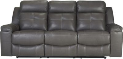 Ashley Jesolo Gray Reclining Sofa