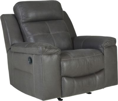 Ashley Jesolo Gray Rocker Recliner