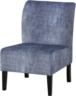 Ashley Triptis Denim Accent Chair