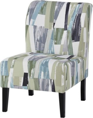 Ashley Triptis Blue Multi Accent Chair