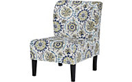 Ashley Triptis Green Multi Accent Chair