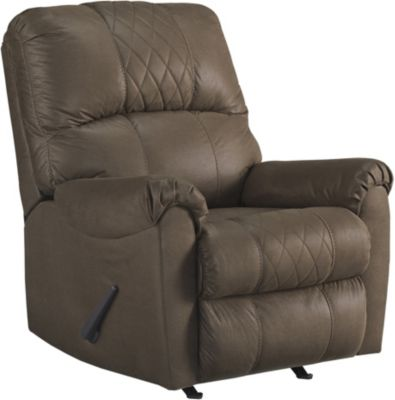 Ashley Narzole Coffee Rocker Recliner