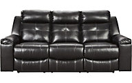 Ashley Kempton Black Reclining Sofa