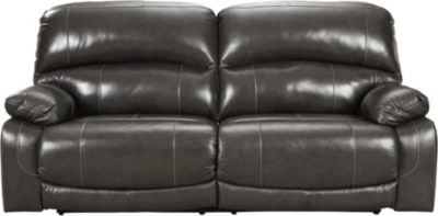 Ashley Hallstrung Power Recline Leather Sofa