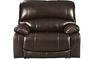 Ashley Hallstrung Leather Power Recliner