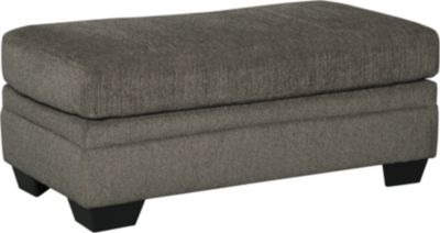 Ashley Dorsten Collection Slate Ottoman