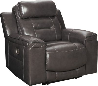 Ashley Pomellato Leather Power Recliner