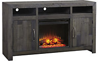 Ashley Mayflyn TV Stand with Fireplace