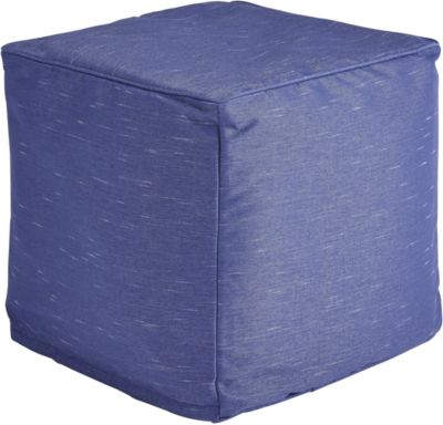Ashley Catalina Indoor/ Outdoor Blue Pouf