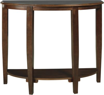 Ashley Altonwood Brown Console Table