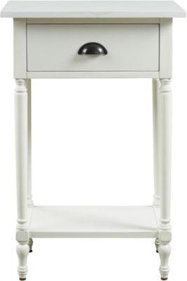 Ashley White Juinville Accent Table