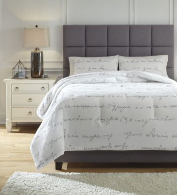 Ashley Adrianna 3-Piece Queen Comforter Set