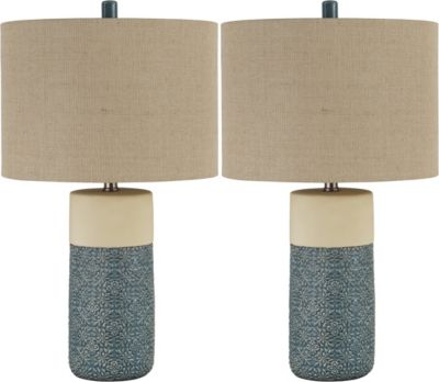 Ashley Evalyn Table Lamp, Set of 2