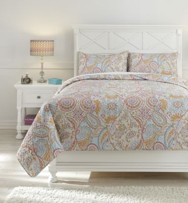 Ashley Jessamine 3-Piece Full Coverlet Set