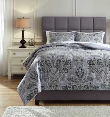 Ashley Susannah 3-Piece King Comforter Set