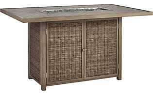Ashley Beachcroft Fire Pit Bar Table