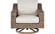 Ashley Beachcroft Swivel Lounge Chair