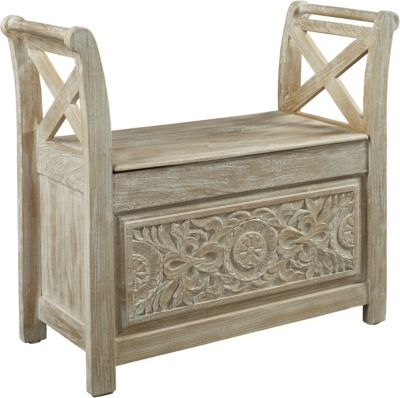 Ashley Fossil Ridge Accent Bench