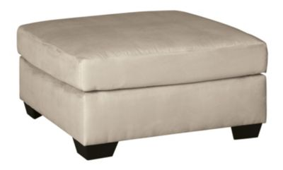 Ashley Darcy Stone Oversized Ottoman