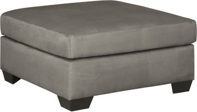 Ashley Darcy Collection Cobblestone Oversized Ottoman
