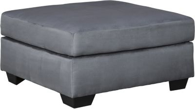 Ashley Darcy Collection Steel Oversized Ottoman