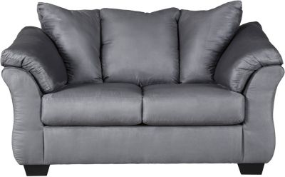 Ashley Darcy Collection Steel Loveseat