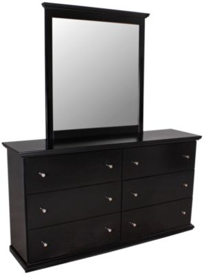 Ashley Maribel Dresser with Mirror