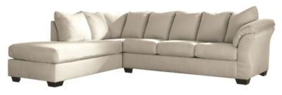 Ashley Darcy Stone 2-Piece Sectional
