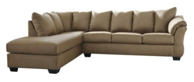 Ashley Darcy Mocha 2-Piece Sectional