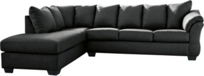 Ashley Darcy Black 2-Piece Sectional