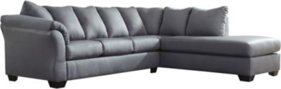 Ashley Darcy Collection Steel 2-Piece Sectional