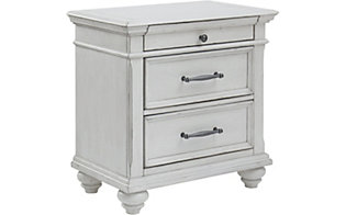 Ashley Kanwyn White Nightstand