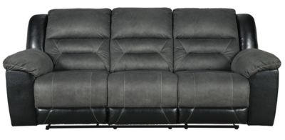 Ashley Earhart Gray Reclining Sofa