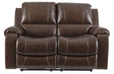 Ashley Rackingburg Leather Reclining Loveseat