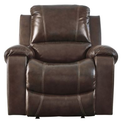 Ashley Rackingburg Leather Power Rocker Recliner