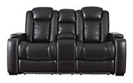 Ashley Party Time Power Motion Console Loveseat
