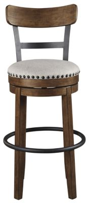 Ashley Valebeck Brown Swivel Barstool