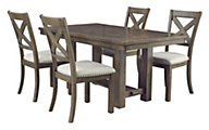 Ashley Moriville 5-Piece Dining Set